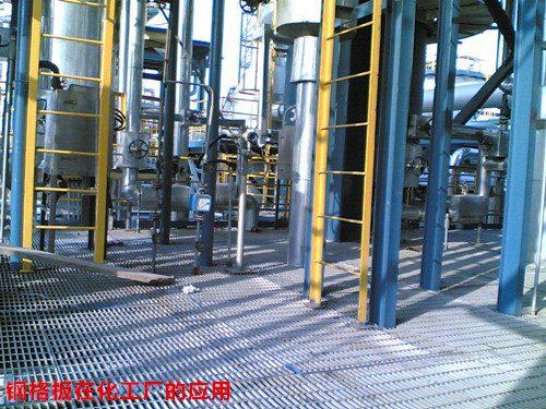 钢格板应用于石油 化工