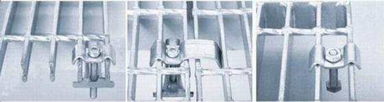 镀锌钢格板安装夹