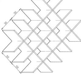 间距30和50组合钢格板