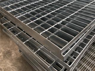 镀锌平台钢格板