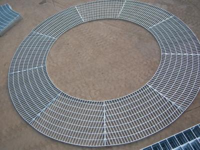 扇形钢格栅板厂家专业制作/异形钢格板