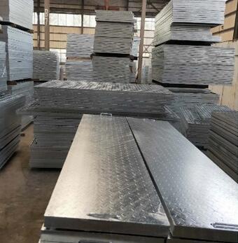 平台花纹钢盖板 镀锌钢盖板