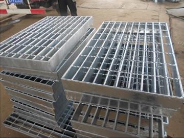 100镀锌钢格板 电厂平台板